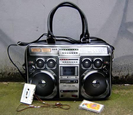 Boombox Handbag