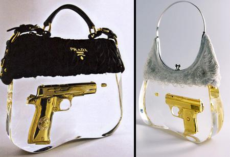 Prada Gun Handbags
