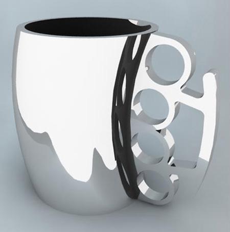 Brass Knuckle Coffee Mug