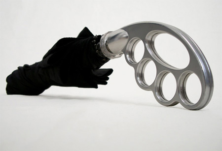 Brass Knuckle Umbrella