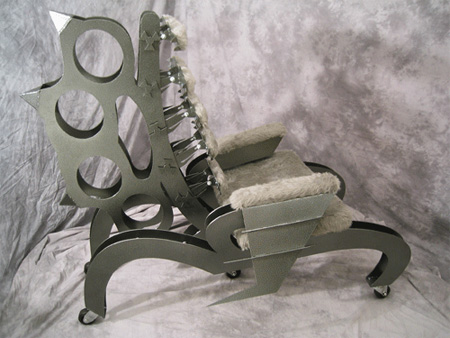 Brass Knuckle Chair