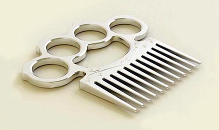 Brass Knuckle Comb