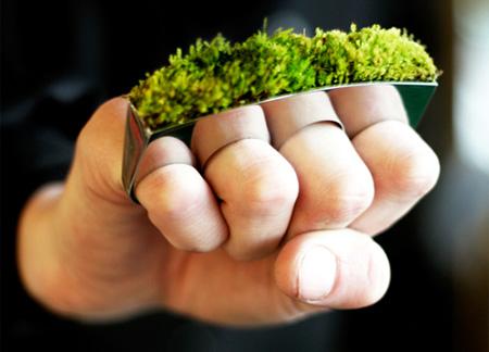Growing Brass Knuckle Jewelry