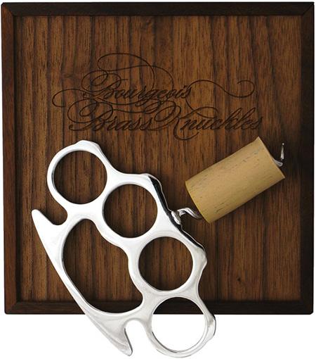 Brass Knuckle Corkscrew