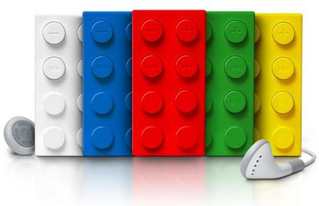 LEGO Brick MP3 Players