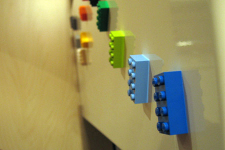 LEGO Refrigerator Magnets