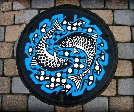 Painted Manhole Covers from Japan 2
