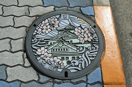 Painted Manhole Covers from Japan 14