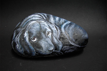 Stone Paintings by Suzi Chua 7