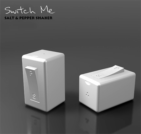 Switch Me Salt and Pepper Shaker