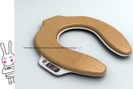 Toilet Seat Scale