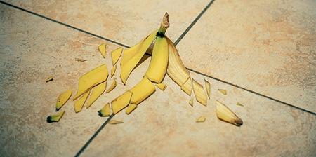 Shattered Banana Peel