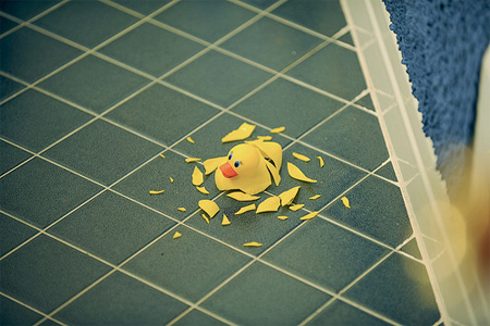 Shattered Rubber Ducky