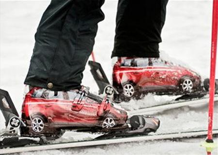 Volvo XC60 Ski Boots Ad Campaign 2