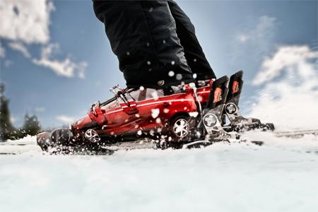 Volvo XC60 Ski Boots Ad Campaign 5