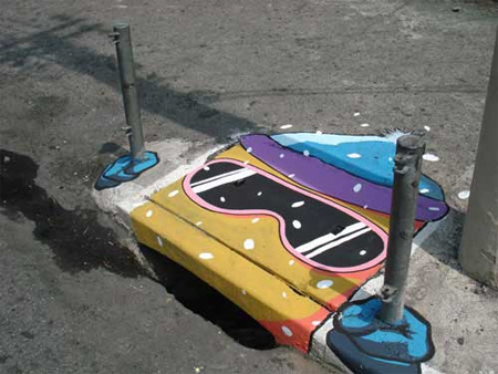 Storm Drain Art from Brazil 14