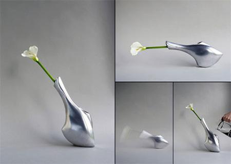 Tilting Vase