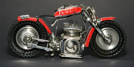 Wristwatch Motorcycles from Brazil