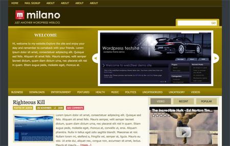 Milano Theme