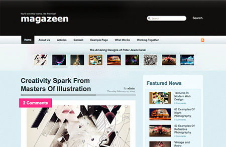 Magazeen Theme