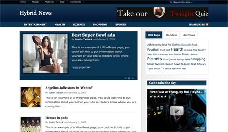 Hybrid News Theme