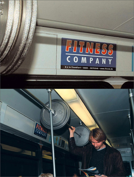 Fitness Company Advertisement