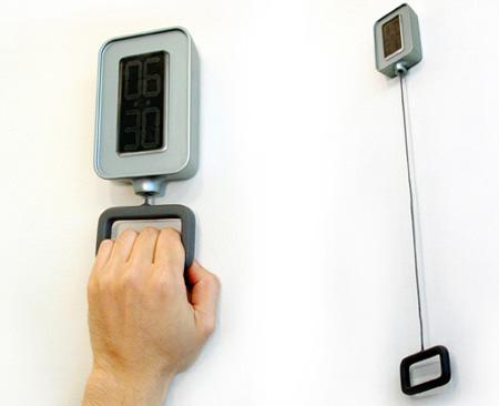 Pull Handle Alarm Clock
