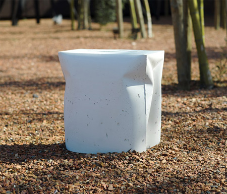 Bag Stool by Gitta Gschwendtner 4