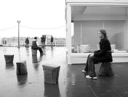 Bag Stool by Gitta Gschwendtner 5