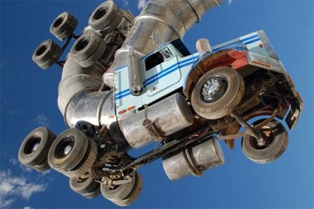 Big Rig Jig Giant Truck Sculpture 2
