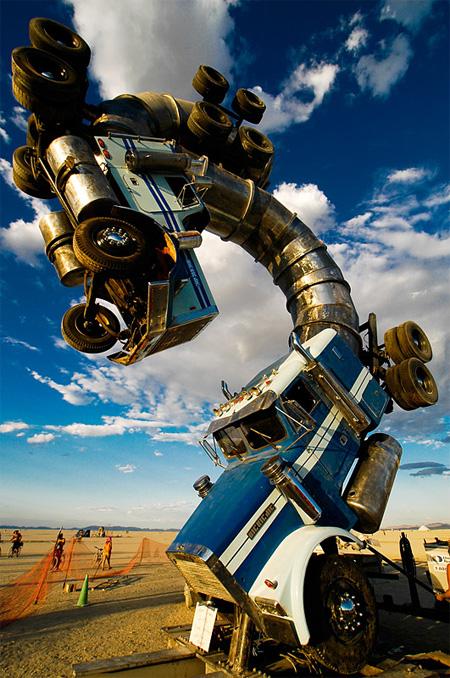 Big Rig Jig Giant Truck Sculpture 3