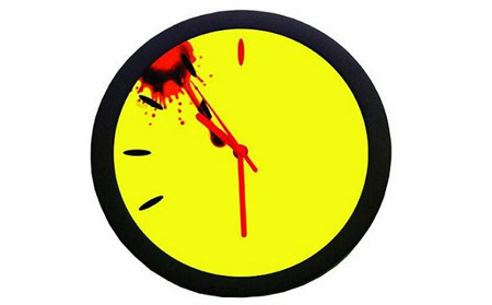 Watchmen Bloody Doomsday Clock
