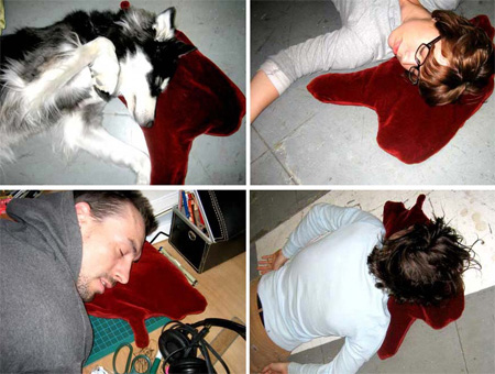 Blood Puddle Pillows