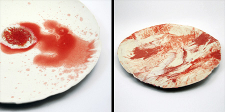 Bloody Dinner Plates