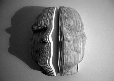 Book Sculptures by Nicholas Galanin