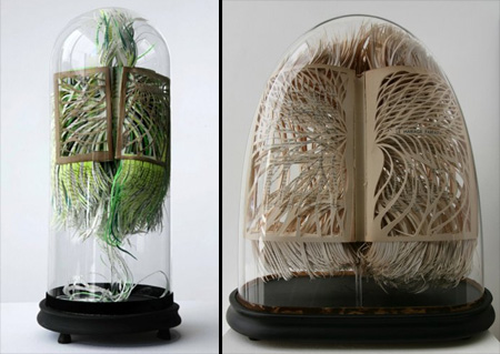 Book Art by Georgia Russell