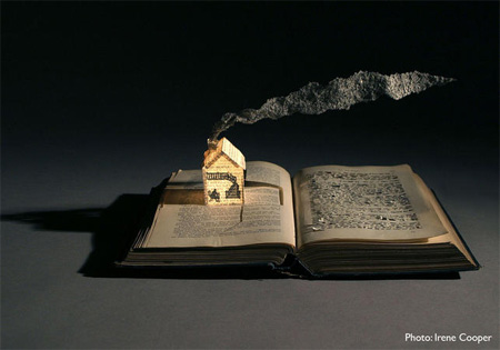 Book Sculptures by Su Blackwell 3