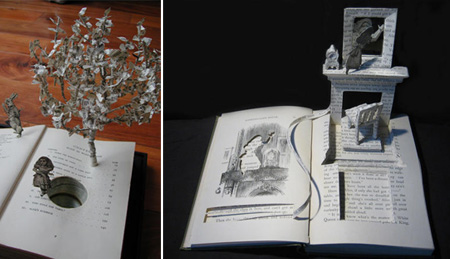 Book Sculptures by Su Blackwell 4