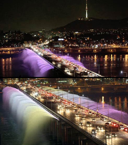 Banpo Fountain Bridge