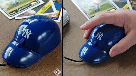 MLB Baseball Cap Computer Mouse