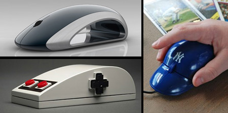 14 Unusual Computer Mouse Designs