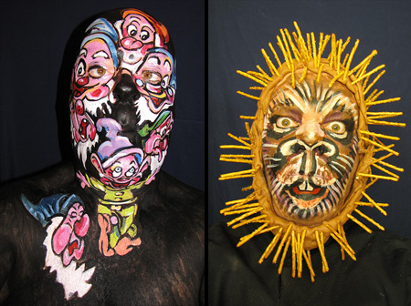 Face Paintings by James Kuhn 3