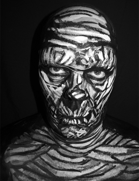 Face Paintings by James Kuhn 8