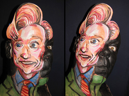 Face Paintings by James Kuhn 9
