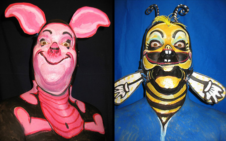 Face Paintings by James Kuhn 11