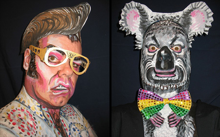 Face Paintings by James Kuhn 12