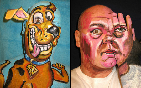 Face Paintings by James Kuhn 13