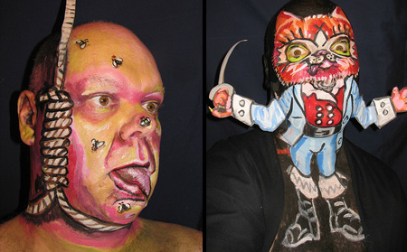 Face Paintings by James Kuhn 16