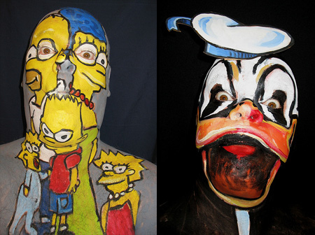 Face Paintings by James Kuhn 17