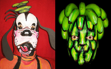 Face Paintings by James Kuhn 18